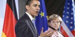 Obama y Merke