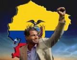 Correa con bandera