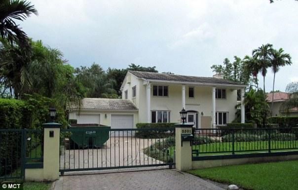 La casa de Kelly, en Coral Gables, Florida.