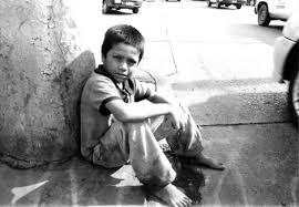 niño pobre en México