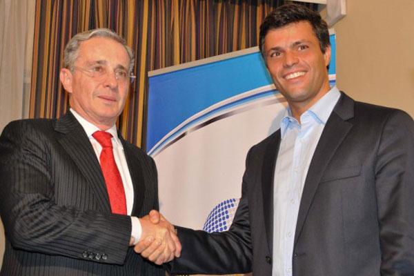 Álvaro Uribe, Leopoldo López