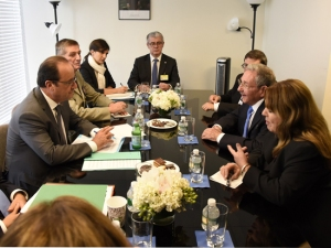 Hollande-ONU-Raúl