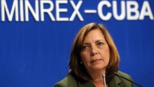 La directora general de EE.UU. de la Cancillería de Cuba, Josefina Vidal, hizo la denuncia este viernes. | Foto: EFE