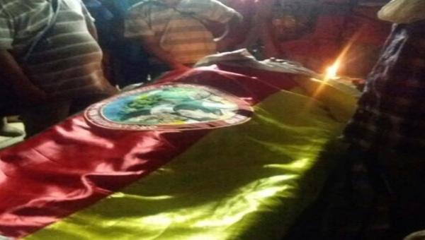 Los dirigentes manifestaron su solidaridad con el pueblo indígena colombiano. | Foto: @ArrietaJuvenal