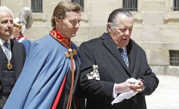 Carlos de Borbón Dos Sicilias y su hijo Pedro (Gtres)
