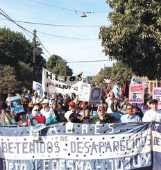 """""""Los cómplices civiles de la dictadura son parte tanto del gobierno nacional como provincial"""", advirtió la Tupac."""