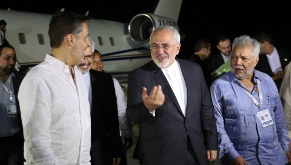Javad Zarif fue uno de los últimos en llegar a Margarita. | Foto: Prensa Presidencial.