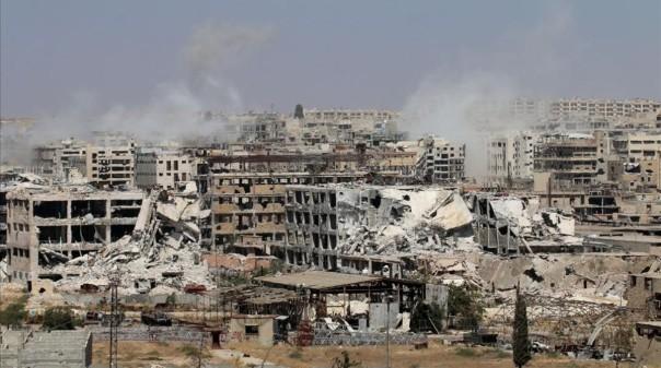 La batalla de Alepo sigue su curso con la perspectiva bastante probable de la derrota de los EEUU y sus aliados terroristas en un plazo más o menos breve