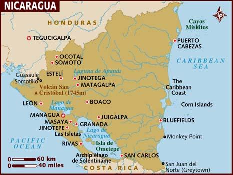 map_of_nicaragua