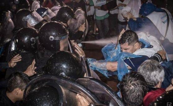 represion en argentina