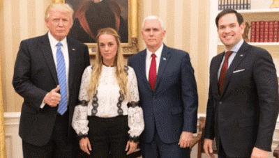 Lilian Tintori y Trump