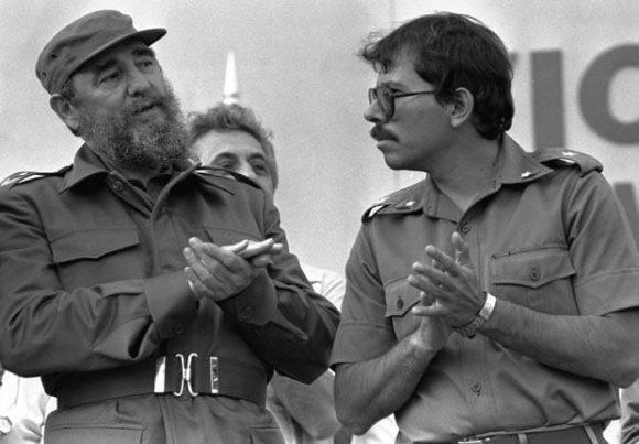 Fidel-Castro-y-Daniel-Ortega-580x403