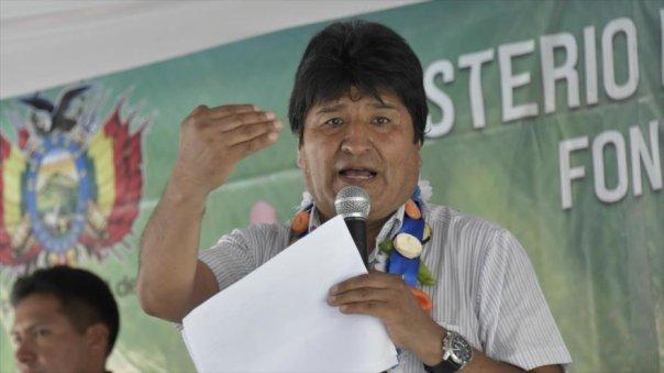 Evo Morales dice expresidentes que se oponen a su repostulación defienden el imperio